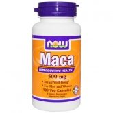 Maca andina 500 mg Now Foods, 100 cápsulas
