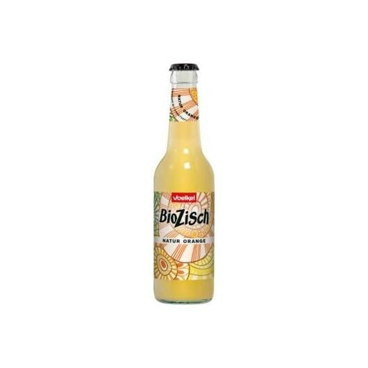 Bibita all'arancia bio Biozisch in ventro Voelkel, 330 ml