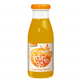 Jus d'orange ,mangue et  fruit de la passion 250ml bio voelkel