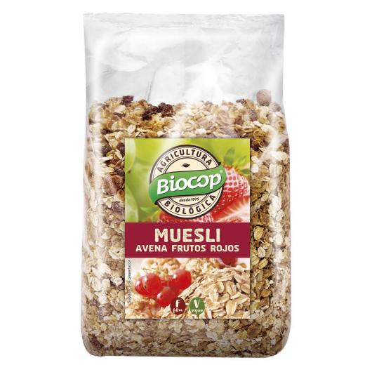 Muesli Avoine et Fruits Rouges Biocop, 300 g