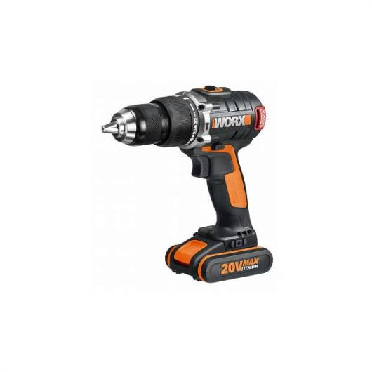 Perceuse Visseuse Worx 2 Batteries 20 V - 2,0 Ah Li-Ion