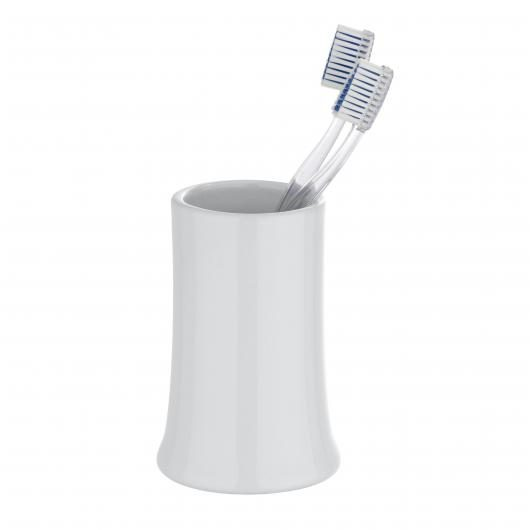 Vaso higiene dental Slope, blanco
