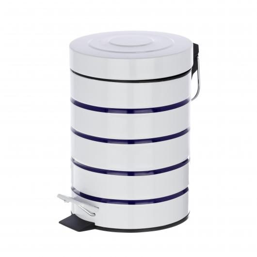 Cubo a pedale Marine, 3 ltr.