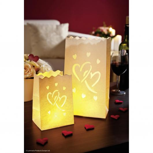 Iluminada decorativa Big Love pña/gde 8p