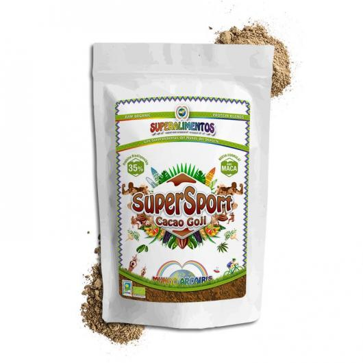 Supersport cacao goji ecológico Mundo Arcoris