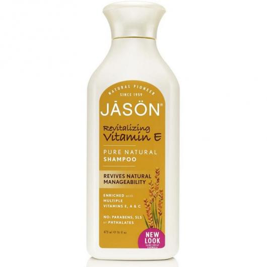 Shampoo con vitamina E Jason, 473 ml