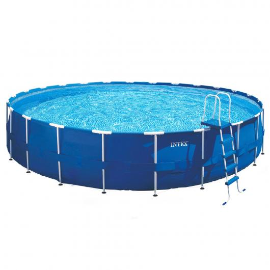 Set completo Piscina Metal Frame 732 x 132 cm Intex