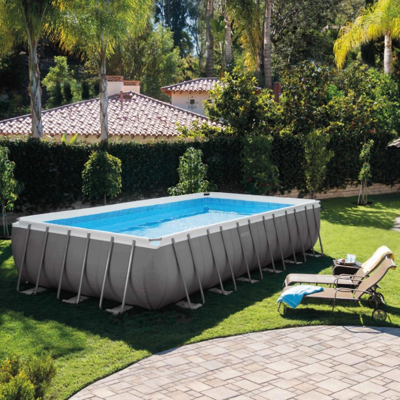Piscina ultra 732 x 366 x 132 cm con depuradora intex en for Piscinas desmontables intex