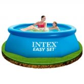 Piscina hexagonal Easy Set 244 x 76 cm Intex
