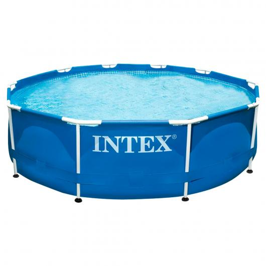 Piscina Metal Frame 305 x 76 cm Intex