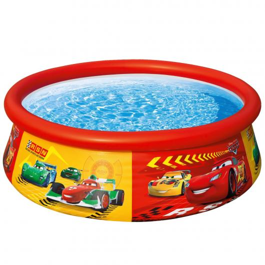 Piscina Cars con aro 183 x 51 cm Intex
