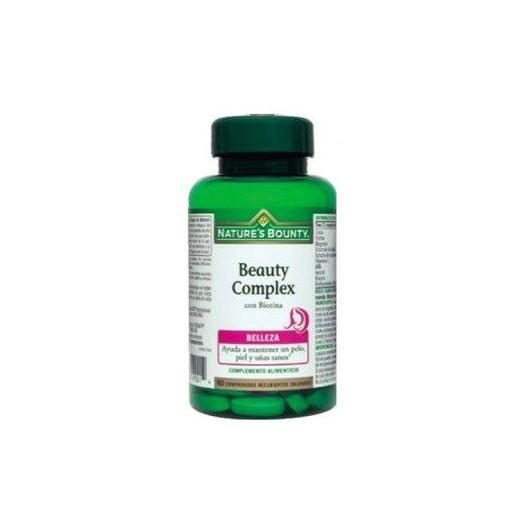 Beauty Complex con Biotina Nature's Bounty, 60 compresse
