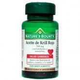 Huile de Krill rouge 500 mg Nature's Bounty, 40 capsules molles