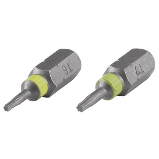 Wolfcraft 2 embouts Torx 25mm