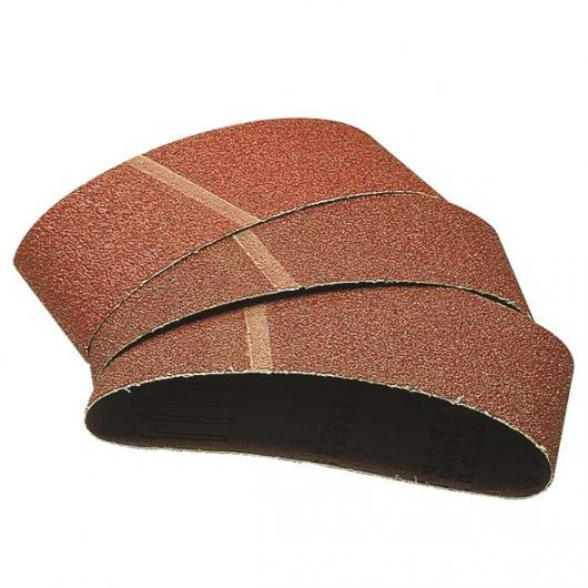 3 bandes abrasives 40x303mm grain 60, 80, 120