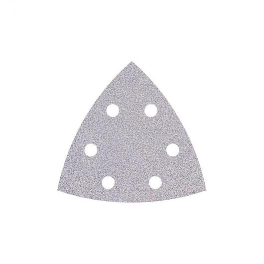 Wolfcraft 1160000 - 5 feuilles abrasives auto-agrippantes 95mm