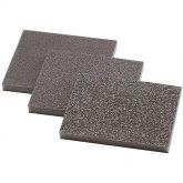 Wolfcraft 2895000 - 3 éponges abrasives