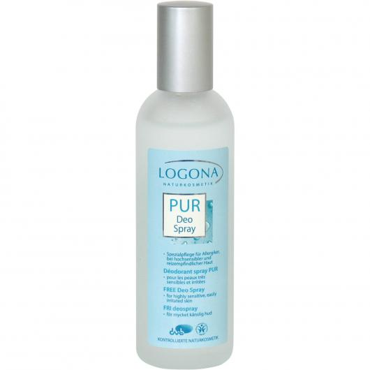 Desodorante Spray Free Pieles Sensibles, Logona, 100ml