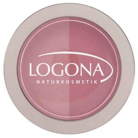 Colorete Duo Pink + Rose Logona, 10g