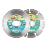 Wolfcraft 8392000 - 1 lot de disques diamant