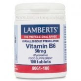 Vitamina B6  50 mg Lamberts, 100 compresse