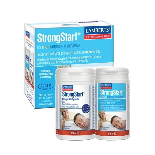 StrongStart® for MenLamberts, 30 comprimés + 30 capsules