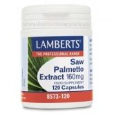 Extracto de Saw Palmetto 160 mg Lamberts 120 capsules