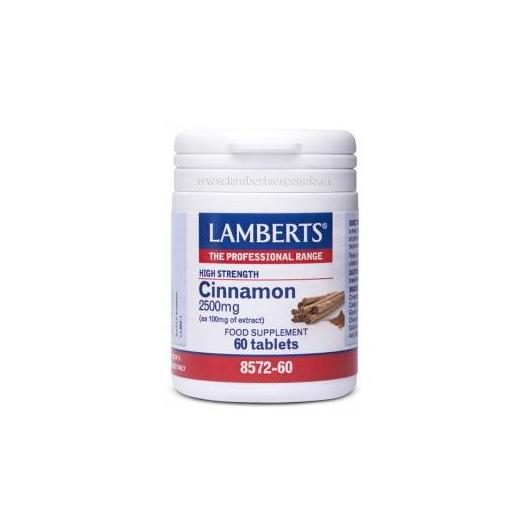 Cannella 2.500 mg Lamberts, 60 compresse