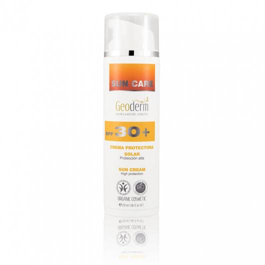 Lotion Solaire Protectrice FPS 30 Geoderm 120 ml
