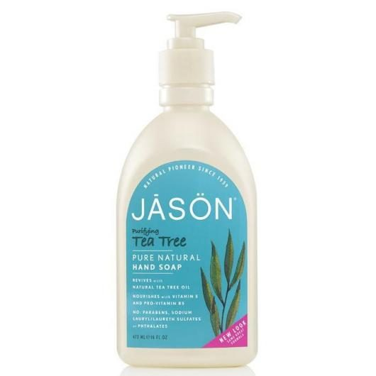 Gel de manos y cara purificante Árbol del té Jason, 473 ml