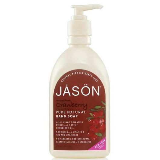 Gel Manos y Cara Arándano rojo, Jason 473 ml