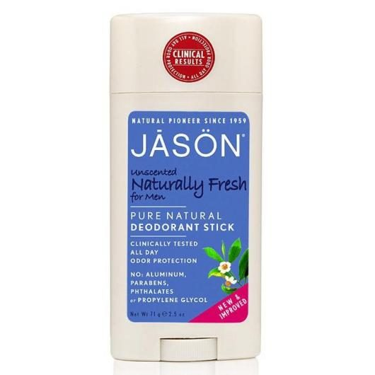 Desodorante stick Naturally fresh para hombre Jason, 71 g