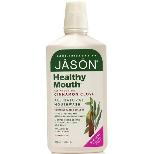 Colutorio Healthy Mouth frescor intenso Jason, 473 ml
