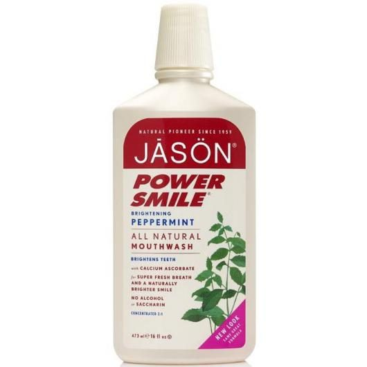 Colutorio Power Smile blanqueante Jason, 473 ml