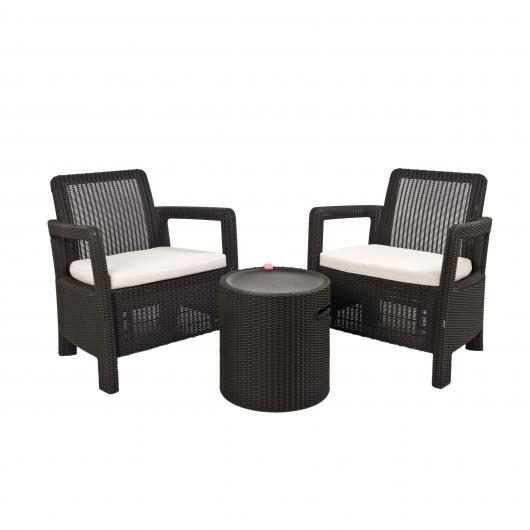 Set muebles Tarifa Balcony con nevera