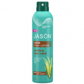 Loción corporal spray calmante Aloe Vera Jason, 177 ml