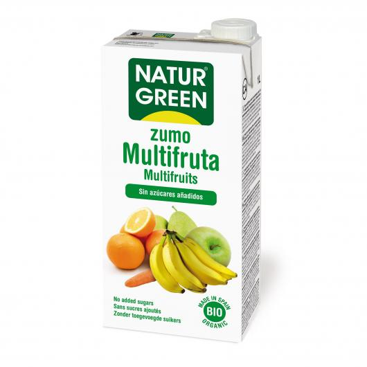 Jus Multifruits NaturGreen