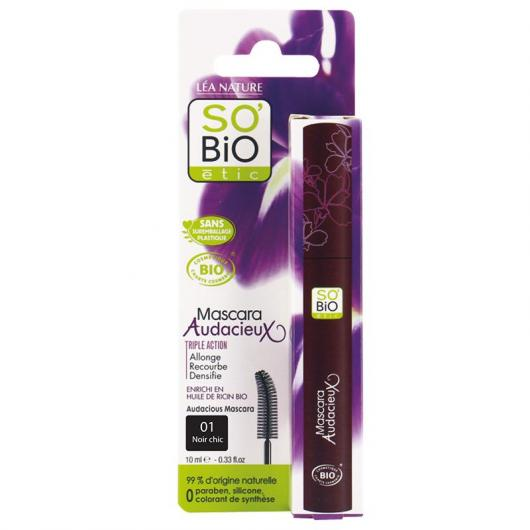 Mascara Tripla azione 01 Nero So' BIO étic 10 ml.