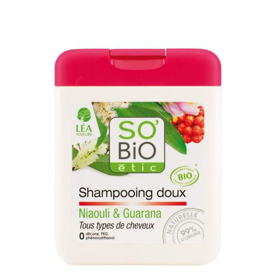 Shampoo addolcente Niaulí e Guaraná SO'BIO étic 250 ml