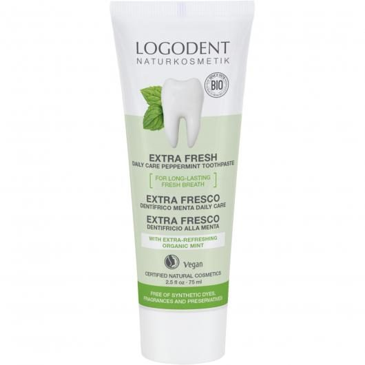 Dentífrico Menta Bio Daily Care Logona, 75 ml