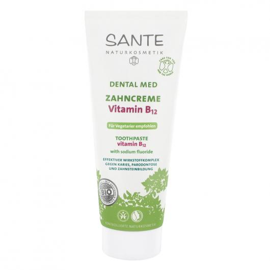 Dentifrice à la vitamine B12 Sante, 75 ml