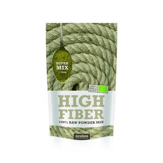 Mix High Fiber polvo Bio Purasana 250 gr