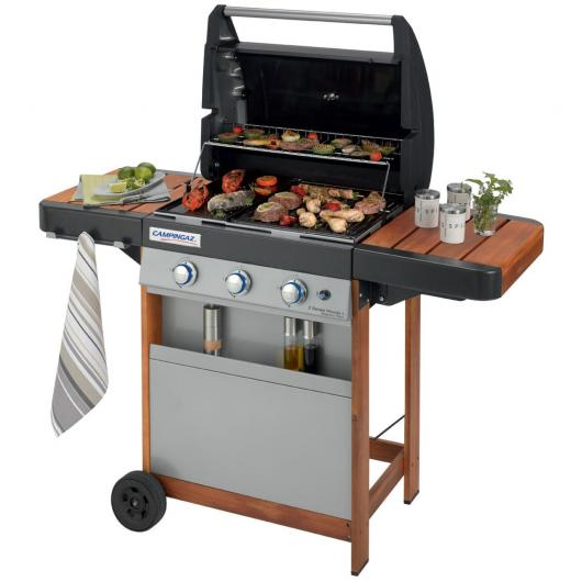 Barbacoa a gas 3 Series Classic Woody Campingaz