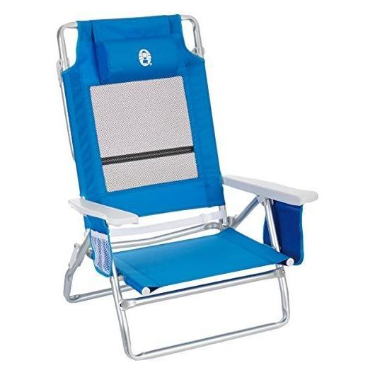 Silla Plegable Low Recliner Coleman