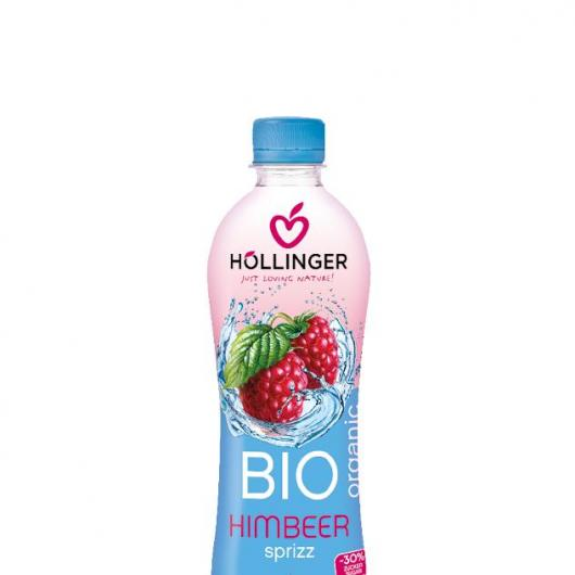 Refresco de Frambuesa con gas bio Hollinger 500 ml