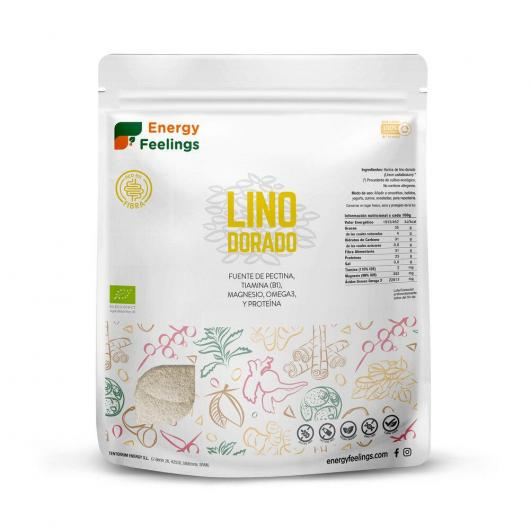 Lino Dorado BIO en  polvo Energy Feelings