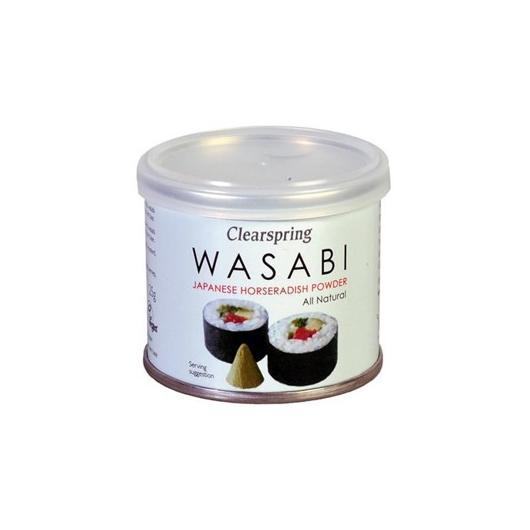 Wasabi in polvere in lattina Clearspring, 25 g