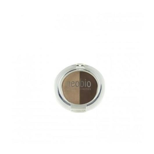 Sombra Ojos Duo 02 Brown Champagne Neobio, 5 g