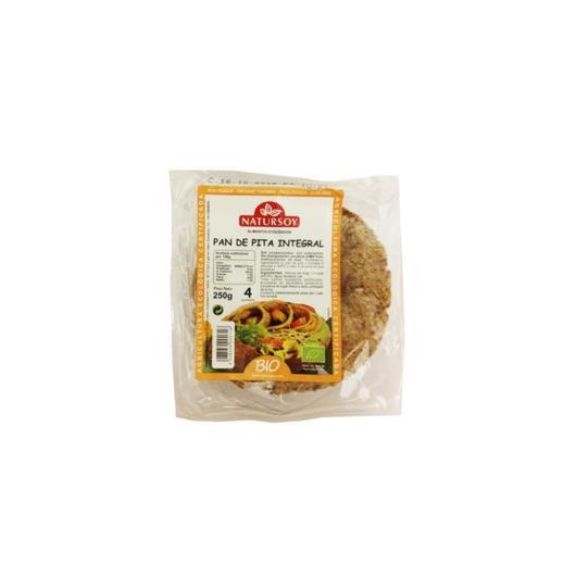 Pain pita complet Natursoy, 250 g