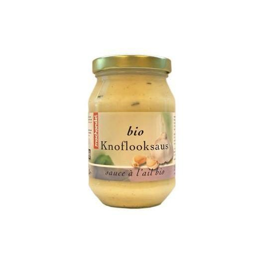 Salsa de ajo bio Machandel  275 ml